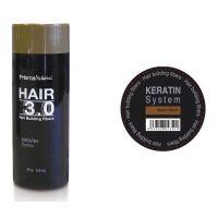 Hair 3.0 building fibers medium brown