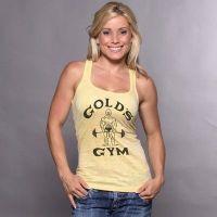 camiseta chica gym joe classic decolorada