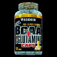 BCAA + L-Glutamine - 180 capsule
