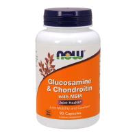 Glucosamina e Condroitina con MSM - 90 capsule