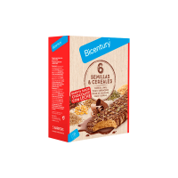 Box of bars 6 seeds and cereals Bicentury - 1