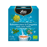 Balsam for the throat - 12 sachets Yogi Organic - 1