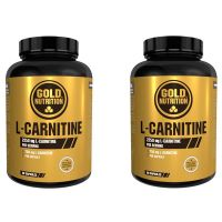 2x1 l-carnitine 750mg - 60 caps GoldNutrition - 1