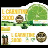 L-Carnitina 3000 - 20 fiale GoldNutrition - 1