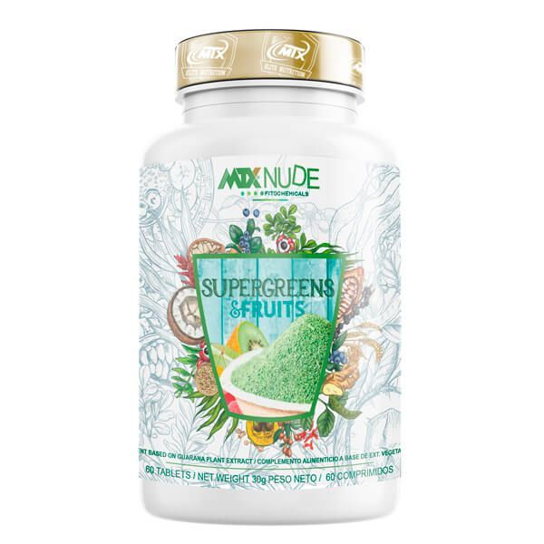 Supergreens and fruits - 60 tablets MTX Nutrition - 1