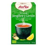 Green tea ginger and lemon - 17 sachets Yogi Organic - 1