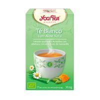 White tea with aloe vera - 17 sachets Yogi Organic - 1