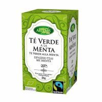 Green tea with mint eco - 20 sachets Artemis BIO - 1
