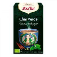 Green chai tea - 17 sachets Yogi Organic - 1