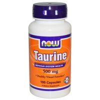 NOW Taurina 500 mg - 100 capsule