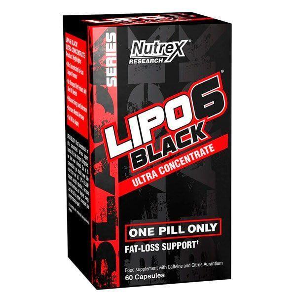 Lipo - 6 Black Ultra Concentrate - 60 capsule Nutrex - 1