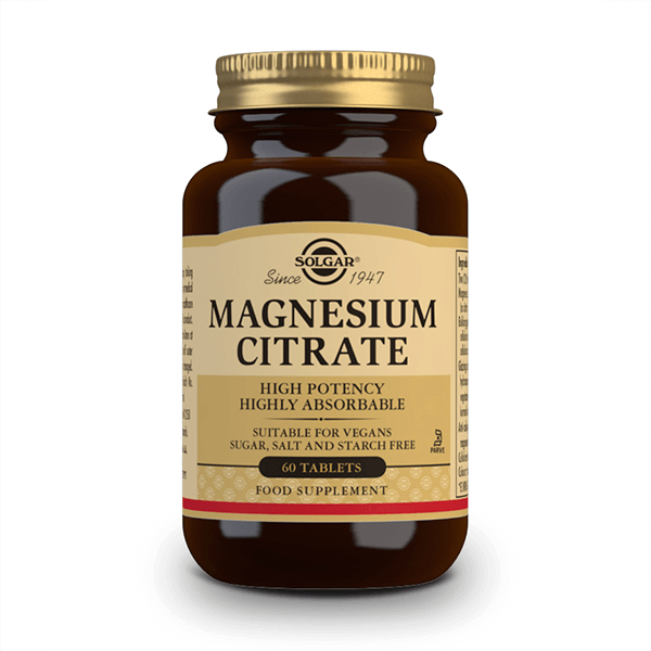 Magnesium citrate - 60 tablets Solgar - 1