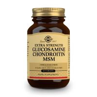 Extra Strength Glucosamine Chondroitin MSM - 60 Compresse Solgar - 1
