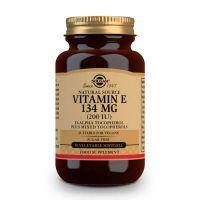 Vitamin e 200 iu 134mg - 50 softgels Solgar - 1