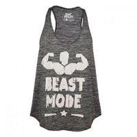 T-shirt beast mode elastic dry
