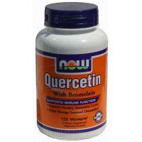Quercetin with bromelain - 120 vcaps