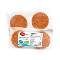 Seitan burger with mushrooms and bio chia - 160g