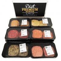 Pack 10 vaschette hamburger 100% freschi  - Diet Premium