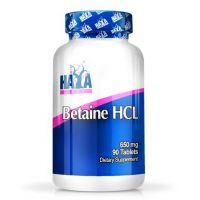 Betaine hcl 650mg - 90 tabs